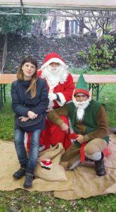 Babbo Natale, il suo aiutante e l'Assessore Ferrarini